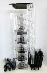 1,5л высокое качество, неповрежденная ПК баночка, Модель: # 756A, (Бесплатная Доставка FEDex)