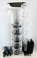 1 5L High Quality Non Broken PC Jar Free Shipping By FEDex