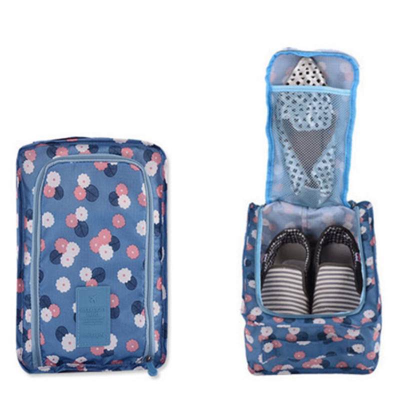 Multifunction Convenient Travel Storage Shose Bag Nylon Carry Portable Organizer Bags Shoe Sorting Pouch Shoe Bags For Travel Shoe Bags