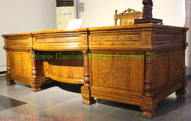 Ufficio Scrivania In Inglese : Cinese classico mobili in mogano palissandro mobili per ufficio