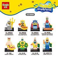 DR TONG Cartoon Movie 80PCS LOT EG18009 Super Heroes Assemble SET Model Building Bricks Blocks Kids