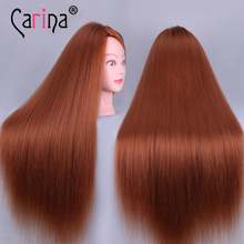 100% Human Hair Mannequin Heads Hairdressing Training Practice Head Hair Styling Mannequins Doll Heads with Free Clamp Wholesale 40% human hair mannequin heads hairdressing training practice head hair styling mannequins doll heads