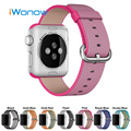 Woven Nylon Watchband 1:1 as Original  for 38mm 42mm iWatch Apple Watch Pin Buckle Band Strap Wrist Belt Bracelet + Adapters