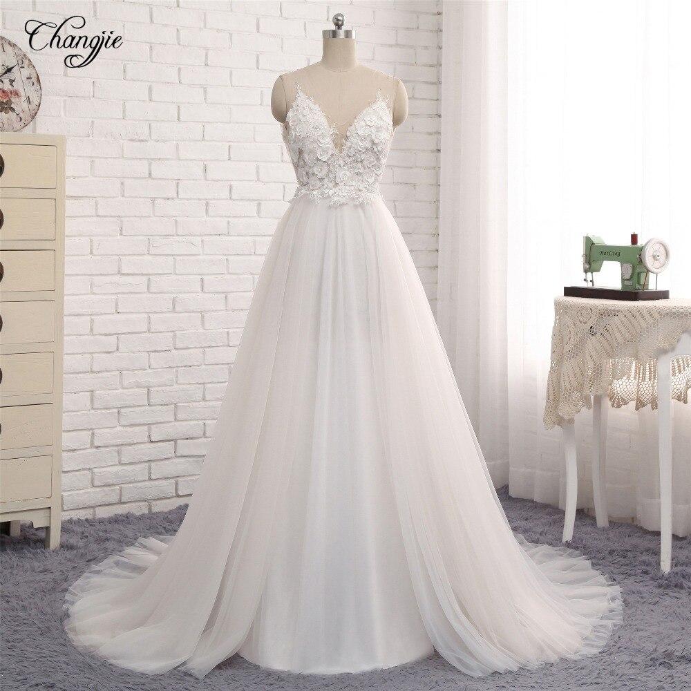 Aliexpress.com : Buy Fabulous New Long Wedding Dress 2018