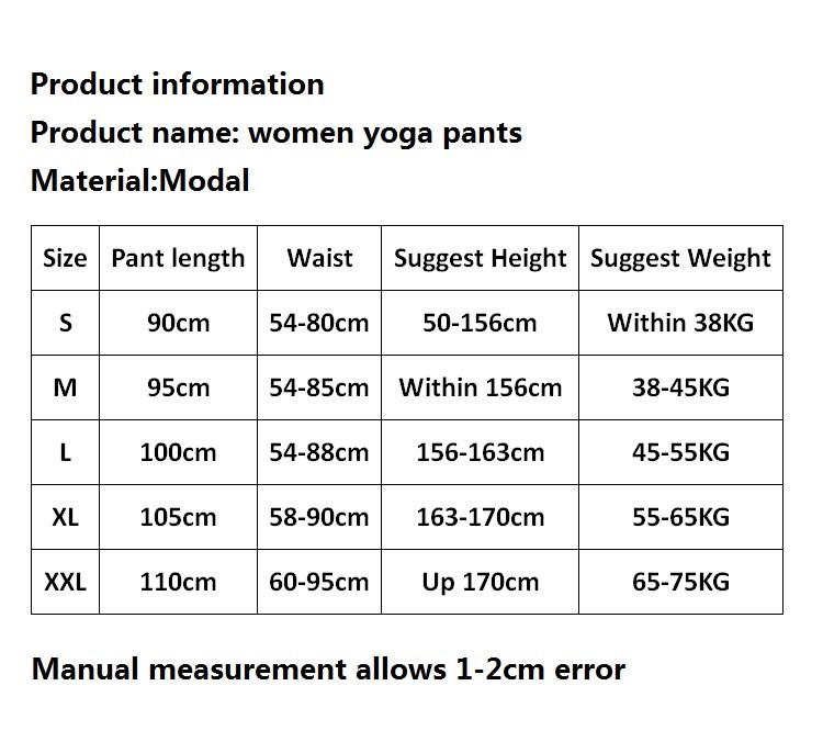 769fcac644 Women Yoga Pants Women Plus Size yoga leggings Colorful Bloomers ...