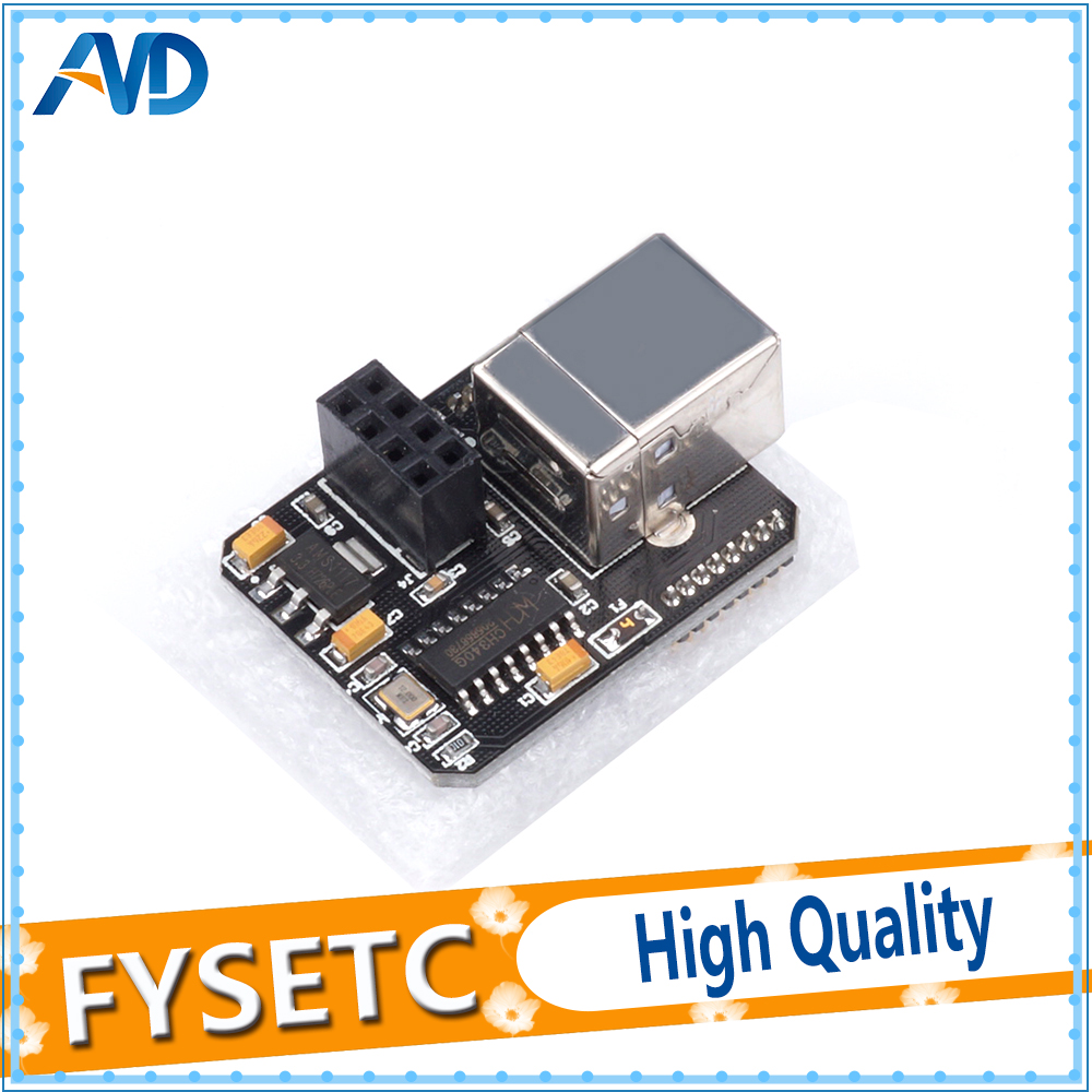 1PC USB Computer Online Module WIFI Function Extensible For Lerdge-X 3D Printer Motherboard LERDGE Parts 3D Accessories