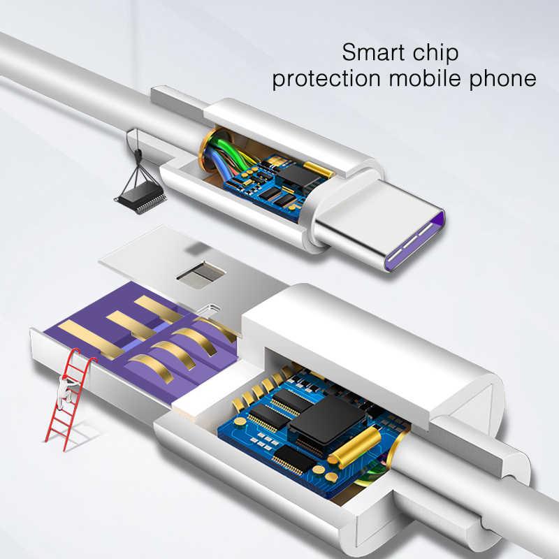 Huawei USB 5A Тип C кабель P20 Pro lite Mate20 10 Pro P10 рlus lite V10 USB 3,1 Тип-C оригинальный Supercharge супер Зарядное устройство кабель