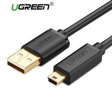 Ugreen mini usb кабель mini usb для быстрой передачи данных зарядное устройство кабель для Сотовых Телефонов MP3 MP4 Плееры Таблетки GPS Цифровой Камеры HDD