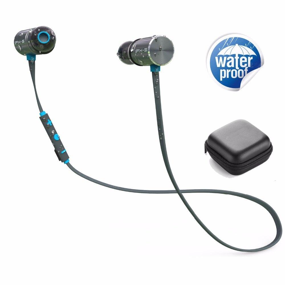 PLEXTONE BX343 Wireless Earphones Waterproof IPX5 Headset Wireless Sports Running Stereo Bluetooth Earphones With Mic Retail Box