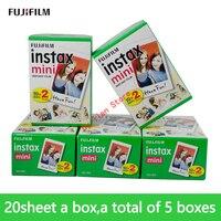 100 sheets Fuji Fujifilm Instax Mini 9 Film 3 inches White Edge Photo Paper Films For Instant Mini 8 7s 25 50s 9 90 Camera Paper