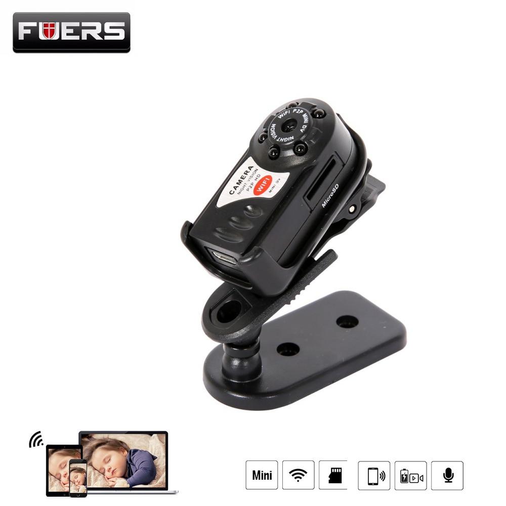 Fuers New HD Q7 Mini Camera Wifi Infrared Night Vision Camera DV DVR font b Wireless