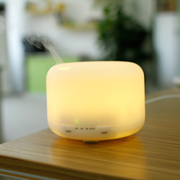 Household Humidifier Ultrasonic Air Aroma Humidifier With 7 Color Lights Electric Aromatherapy Essential Oil Aroma Diffuser