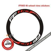 Ffwd f6 estrada bicicleta roda grupo adesivos f6 substituição adesivo decalque profundidade 48mm para a altura do quadro de 60mm/70mm bicicleta decalques bicycle stickers wheel decal wheels bicycle wheel decals -