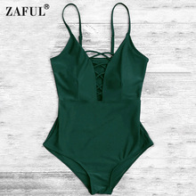 ZAFUL Bandage Bathing Suits