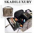 Hot Sale Portable Cute Multifunction Beauty Travel Cosmetic Bag Makeup Case Pouch 6 colors
