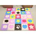 30*30*1CM Soft EVA Foam Pattern Puzzle Mat Pad Floor Crawling Rugs Baby Children Kids Toy Games Protection Mat VBV14 P15 0.5
