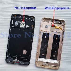 Image 3 - For Huawei Honor 8 Pro DUK L09 / Honor V9 DUK AL20 DUK TL30 Back Battery Cover Door Housing Case Rear Glass Parts
