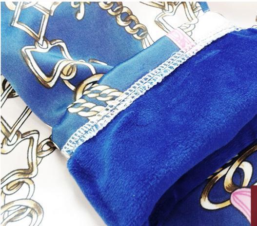 Encaje Impresión Libre Blue Nuevo Manga Mujeres Otoño Envío orange Terciopelo Temperamento Camisas Larga Blusa Invierno Tx7Fwq18
