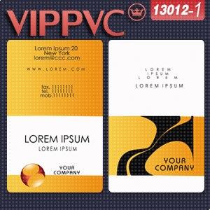 A13012 Modelo de cartão de visita cartão de visita design e Impressão de  Cartões de PVC Branco d4eb6f18702a8