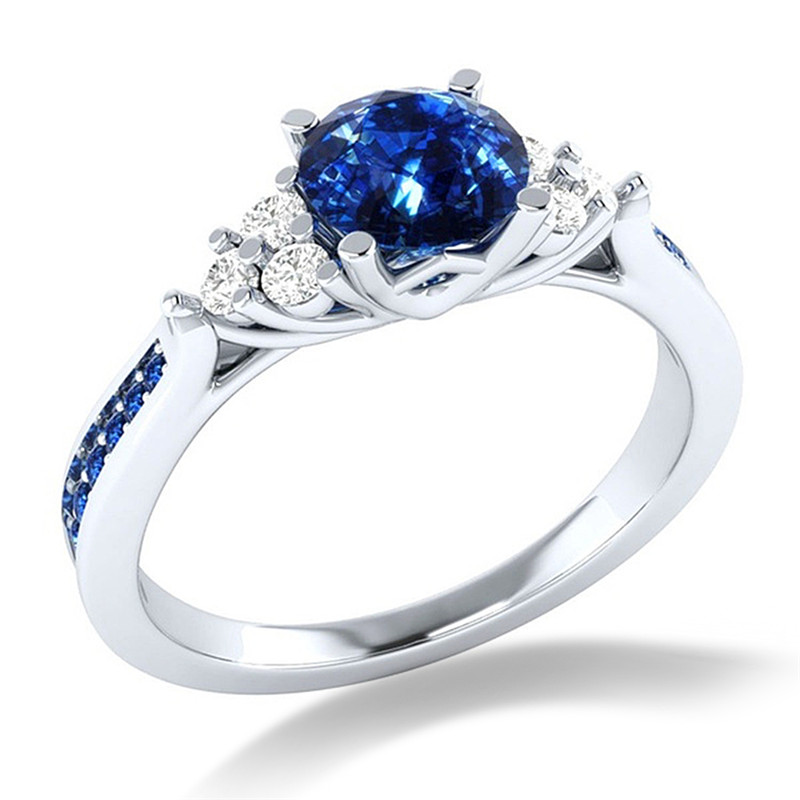 Luxury Wedding Engagement Zircon Rings For Women