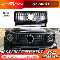 For Mercedes Benz G Class W463 GT grille Replacement Front Grille for w463 1990 2018 with camera hole