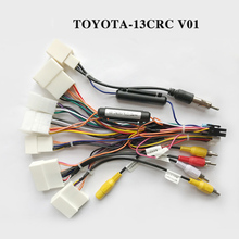 Buy Wiring harness cable special for Toyota CAMRY,RAV4,corolla only for ARKRIFHT Car Radio Android Device directly from merchant!