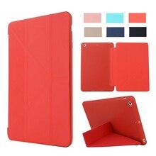 Luxury Slim Leather Flip silicone Case for ipad mini2 mini3 Smart Tablets