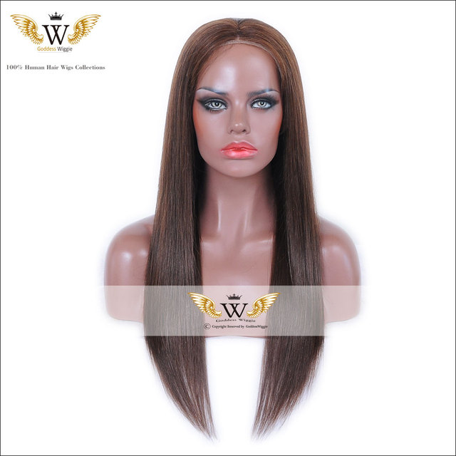 6A Remi Straight Hair Full Lace Human Hair Wigs/Glueless Human Hair Omber Lace Front Wigs With Bangs For Black Women