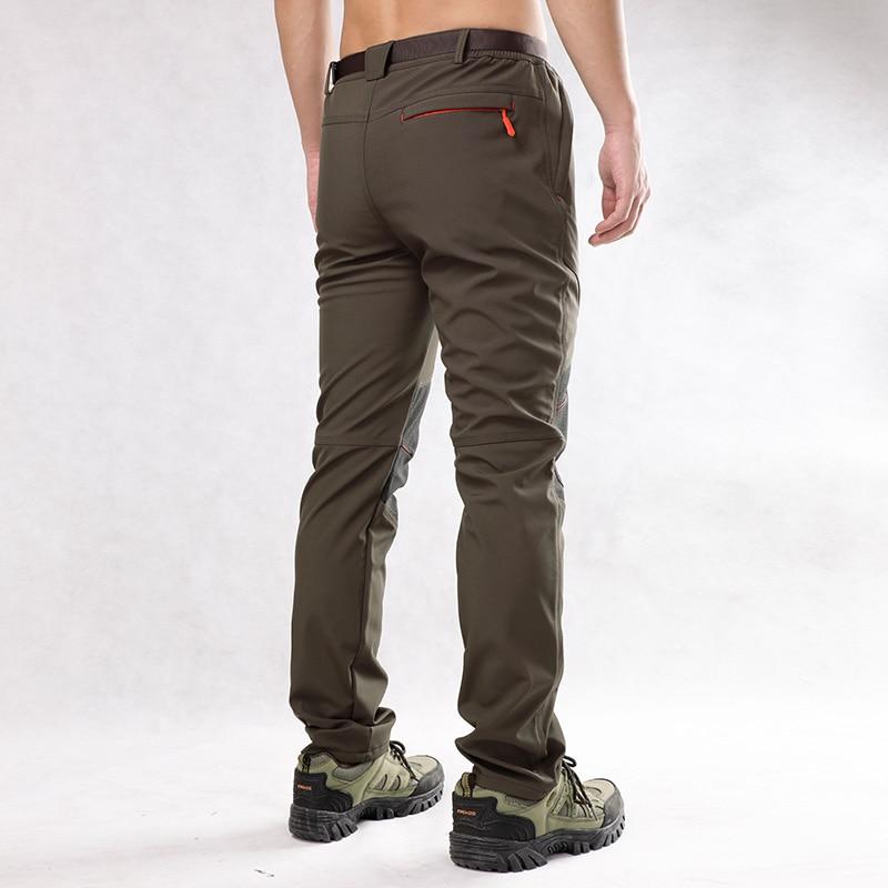 Hommes Charge Pantalon Style Saisir Sweat Pantalon Chaud Coupe-Vent - Vêtements pour hommes - Photo 2