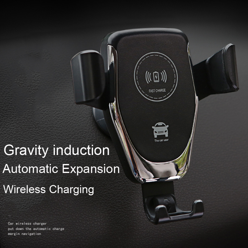 Gravity induction Car Qi Wireless Charger For iPhone XS Max X XR 8 Fast Charging Air Vent Phone Holder For Samsung Note 9 S9 S8