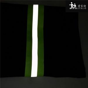 Image 4 - 50mm x 15mm * 3 Metro/lote, tela reflectante Oxford cinta de coser, cosido en cinta reflectante para bolsas para ropa alta visibilidad