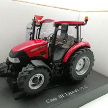 UH 4239 1:32 чехол IH Farmall 75 C сельскохозяйственные тракторы сплав модель автомобиля литья под давлением игрушки для детей подарок