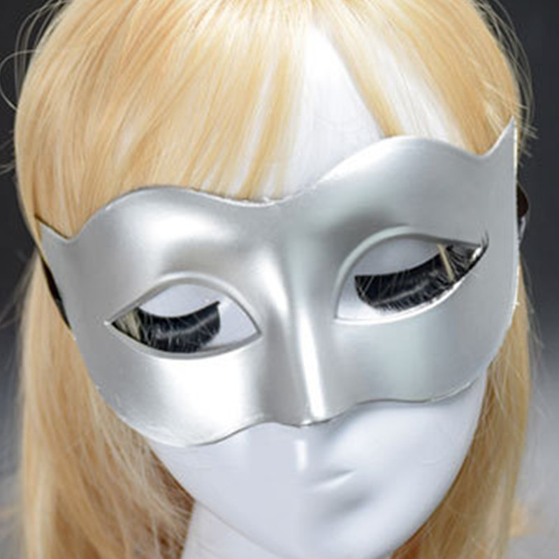 7 colors Nightclub Bar Disco Half face Mask Christmas Adult Halloween Carnival Costume Masked ball Masquerade Rave party Cosplay