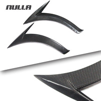 NULLA Carbon Fiber For Mercedes Benz CLA 200 180 CLA250 W117 2014 2015 2016 Side Door Fender Vent Sticker Trim