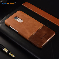 For Xiaomi Redmi 5 Plus Case Two Colors Genuine Leather Back Shell Cover Case For Xiaomi