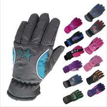5-10Y Kids Winter Warm Gloves Children Boys Girls Ski Cycling Climbing Outdoor Gloves Waterproof TQ055