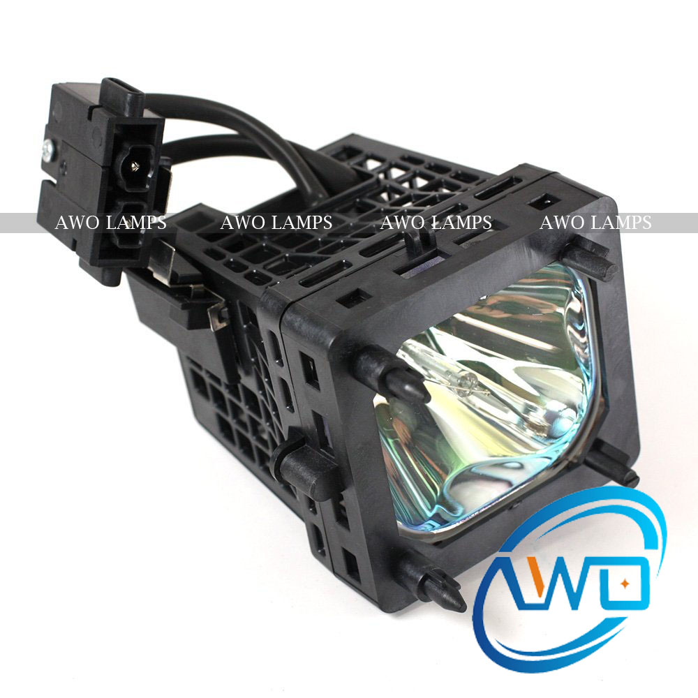 AWO TV Rear Projector Lamp with Housing XL5200 for SONY KDS 55A2000/KDS 55A2200/KDS 55A3000/KDS 60A3000 KDS-60A2000 KDS-60A2020  цены