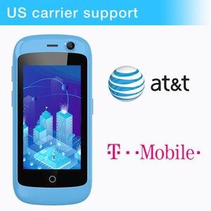 Image 4 - Smartphone unihertzs jelly pro 3gb + 32gb, o menor smartphone 4g do mundo, android 8.1 oreo desbloqueado smartphone preto