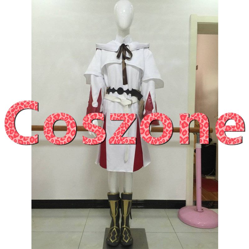 FF14 Final Fantasy XIV White Mage Cosplay Costume Game Halloween Carnival Party Costume Custom Made