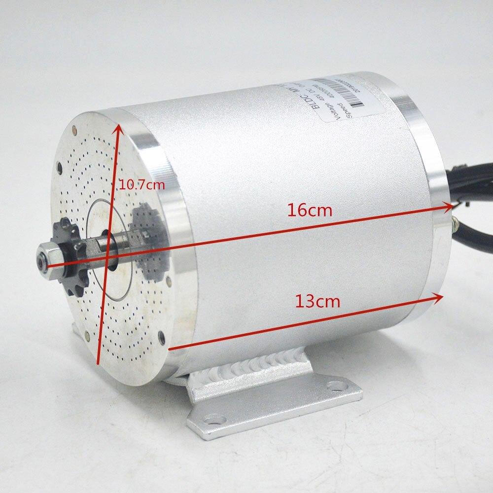48V 60V 2000W Elektrische Motor ebike motor Conversion Kit mit Bürstenlosen Motor Controller für Elektrische fahrrad/ roller/dreirad