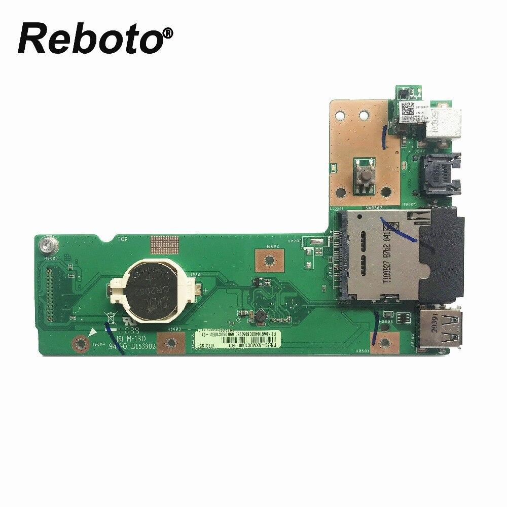 For ASUS K52 K52J K52JR K52JC K52DR X52F K52F X52J USB DC Jack Board 60-NXMDC1000 K52JR REV:2.2 100% Tested