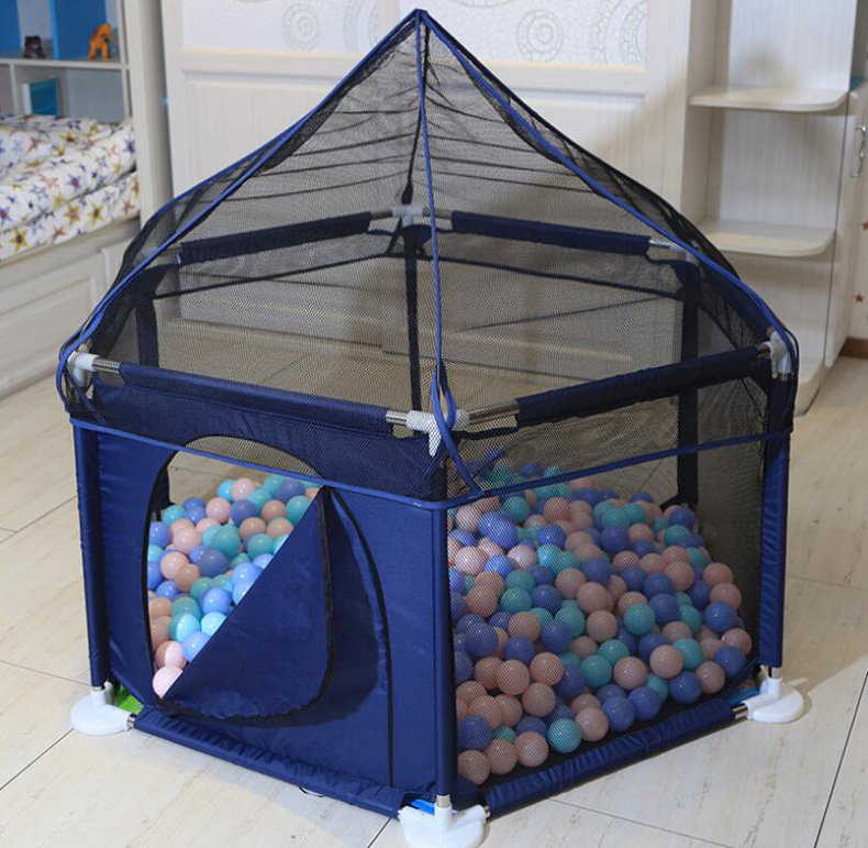 Baby Playpen Ball Pit Children Safety Fence Baby Room Pool Play Tent