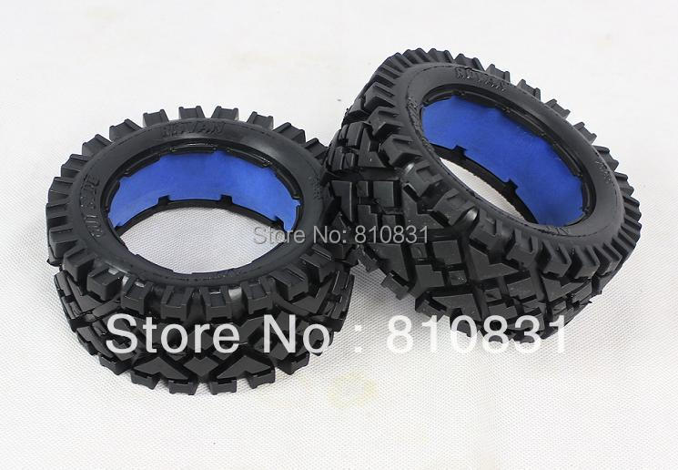 All Terrain cover tires for front  wheels of 5B baja  Not contain the blue inner tires