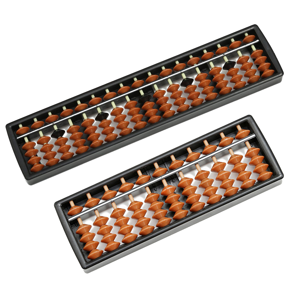Abacus Montessori Toy 17 Digits Kid School Learning Math Arithmetic Toy Chinese Traditional Abacus Educational Toys For Children