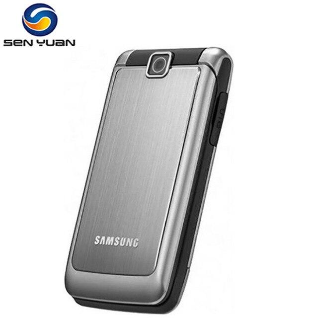 S3600 המקורי סמארטפון סמסונג S3600 1.3MP מצלמה GSM 2G רוסית מקלדת Flip תמיכת משלוח חינם