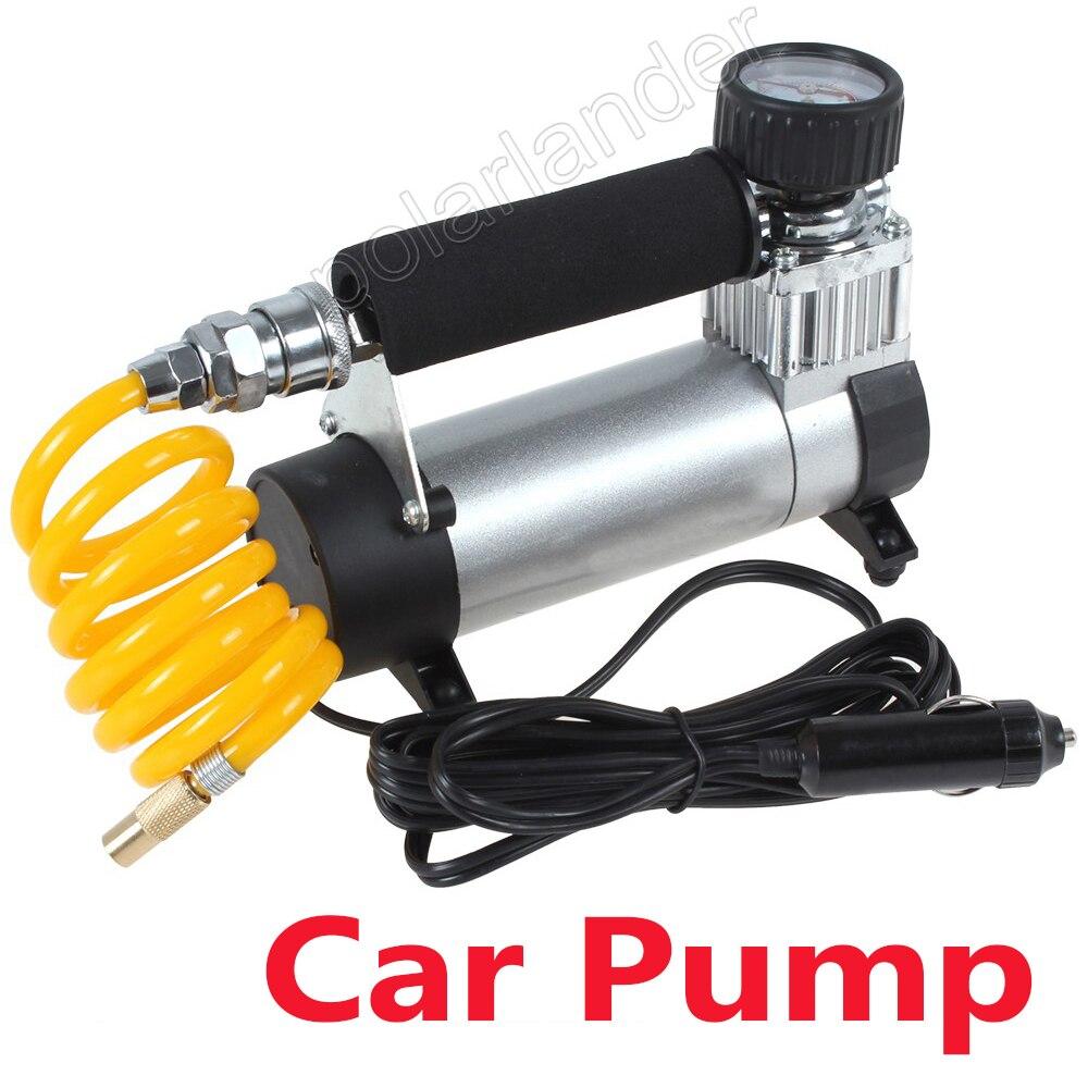 Auto 100PSI Portable compresseur d'air gonfleur de pneu Super débit pompe de voiture de haute qualité 12 V