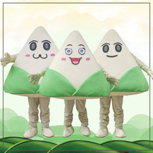 Traditional Chinese food Zongzi Mascot Costume Cosplay Party Outfits Advertising Carnival Halloween Easter Adult Suits