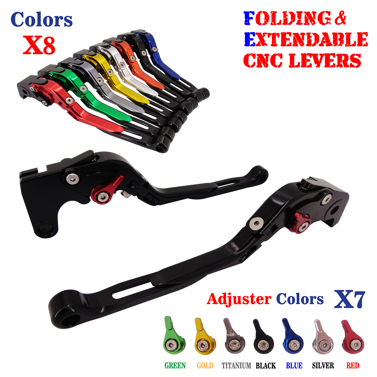 Easy To Install Folding Extendable Brake Clutch Levers For Buell XB12Scg 2009 M2 Cyclone 1997-2002 billet extendable folding brake clutch levers for buell m2 cyclone 1200 s1 x1 lightning xb 12 12r 12scg 12ss 97 98 99 00 01 02