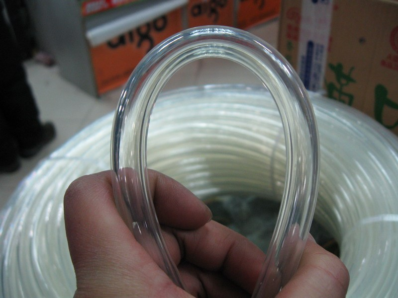 Tubulação de água de resfriamento de água 3 tubo fino inradius 9.5mm 12.7mm material de PU transparente tubo de refrigeração de água 2 M