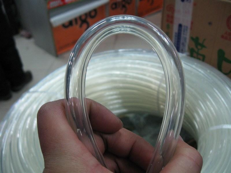 Su soyuducu su borusu 3 nazik boru inradius 9.5mm 12.7mm şəffaf PU material su soyutma borusu 2M